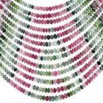 Turmalin Strang multicolor